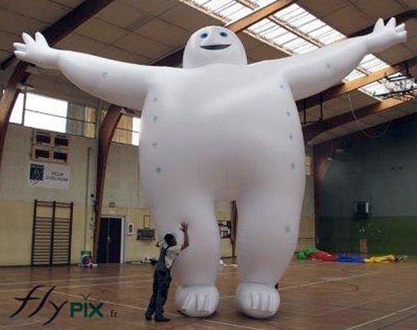 Ballon en forme de personnage ou de mascotte