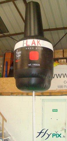Ballon en PVC avec logo imprimé
