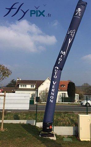 Skydancer Peugeot pour un concessionnaire auto