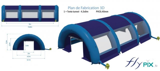 tente-gonflable-tunnel-45x9m-pvc040mm-abris-tente-hangar-gonflable-piscine