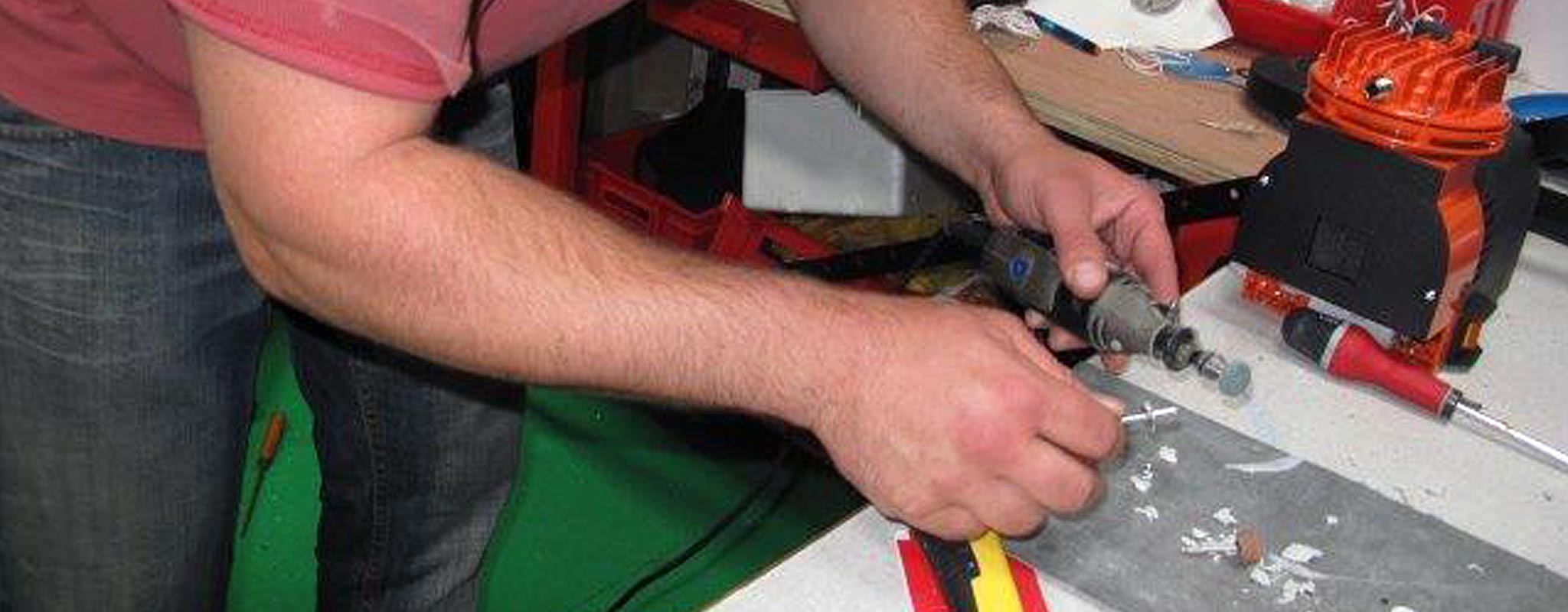 Réparation, remplacement de turbines et de LED de vos gonflables